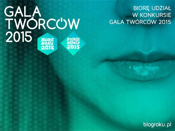 Startujemy w konkursie Blog Roku 2015