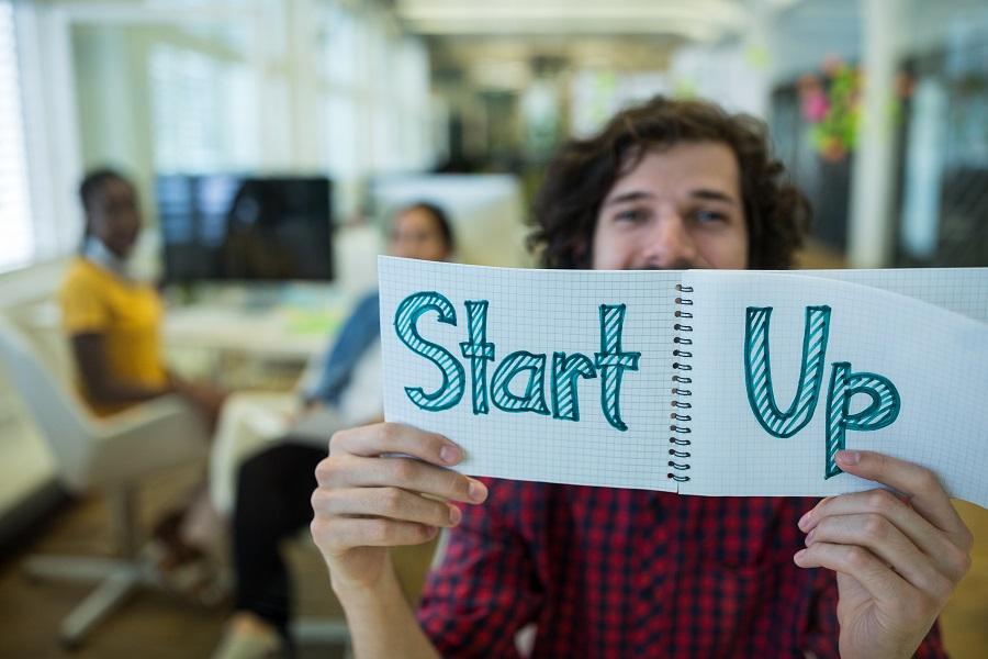 na startupie