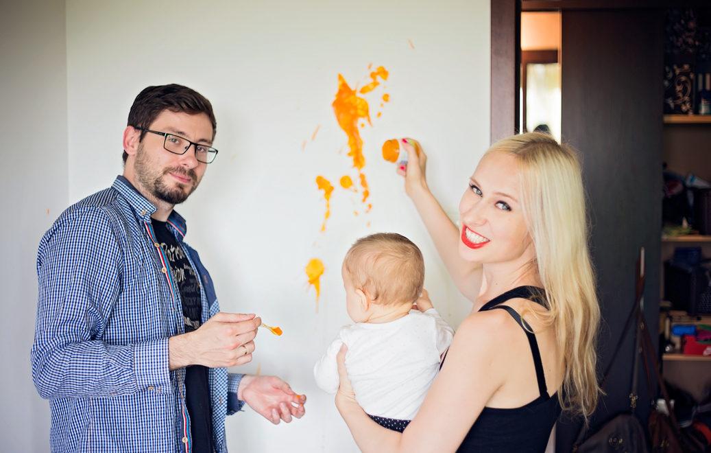 Drodzy rodzice, gąbką dziecku świata nie wyłożymy… ale możemy go odpowiednio pomalować!
